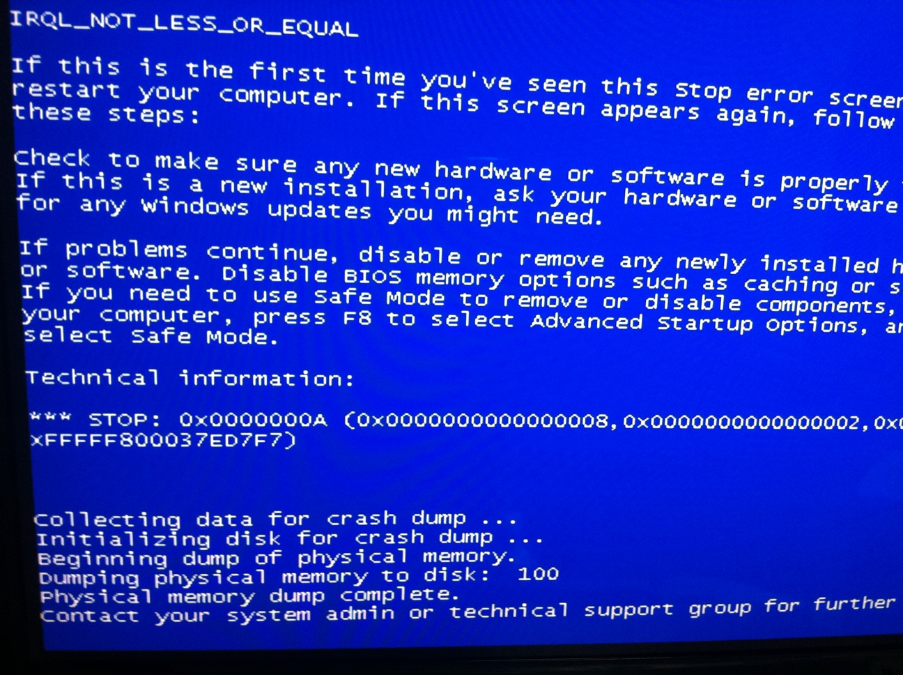 Click image for larger version  Name:BSOD1.JPG Views:228 Size:423.1 KB ID:85991