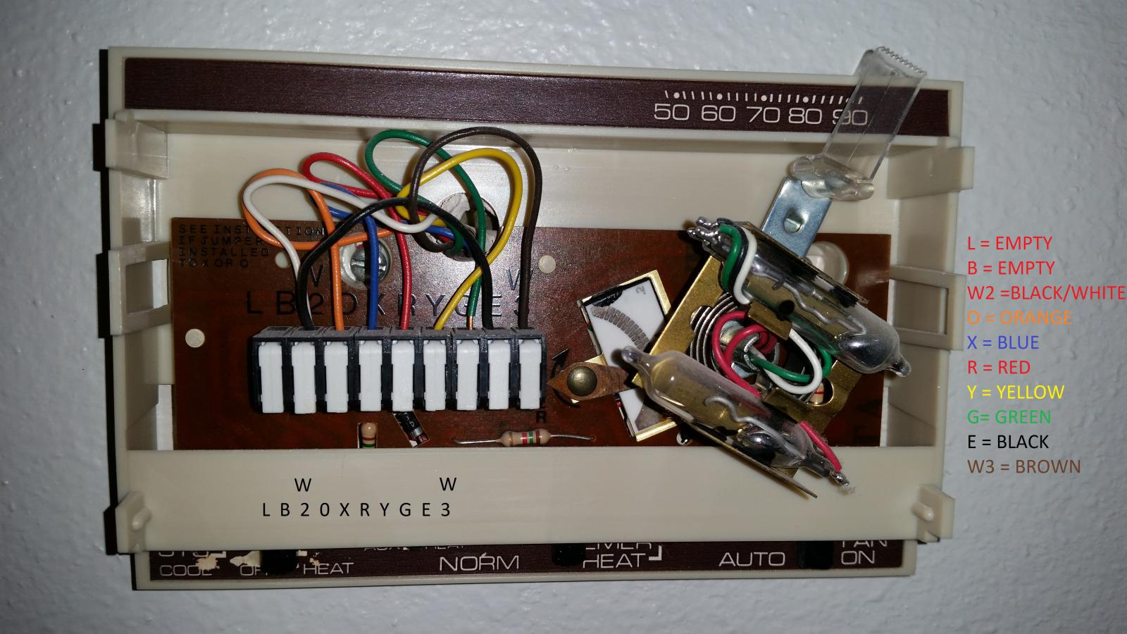 old mercury thermostat wiring solidfonts honeywell mercury thermostat wiring solidfonts
