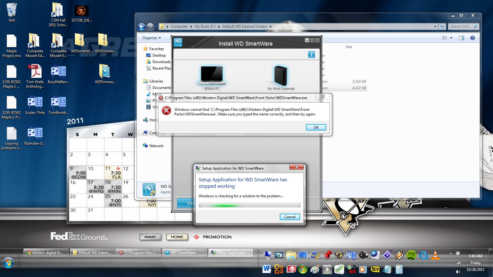 Click image for larger version  Name:Error Western Digital WD hard drive after Smartware update.png Views:615 Size:922.3 KB ID:99827