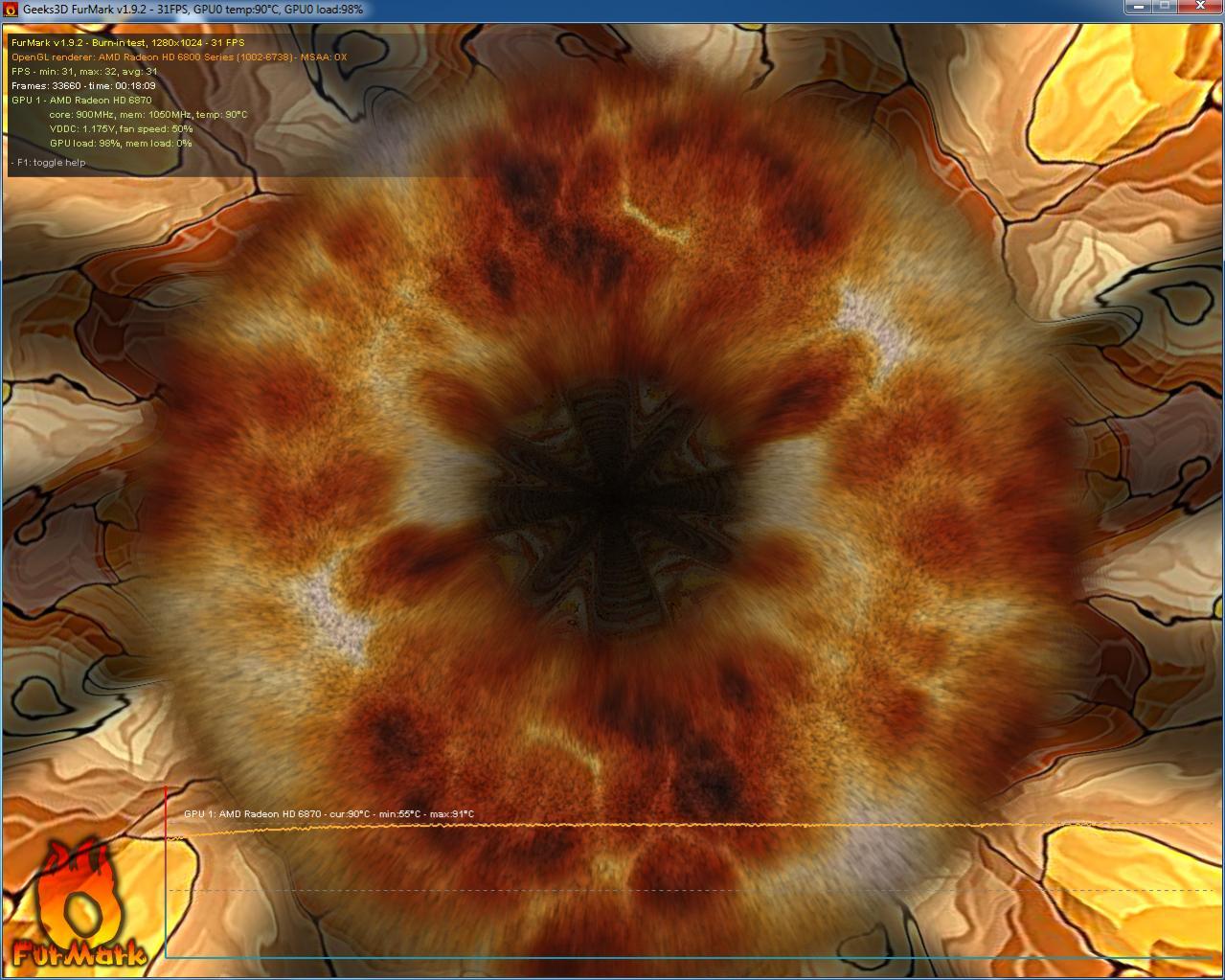 Click image for larger version  Name:FurMark v1.9.2 test.jpg Views:43 Size:184.7 KB ID:114714