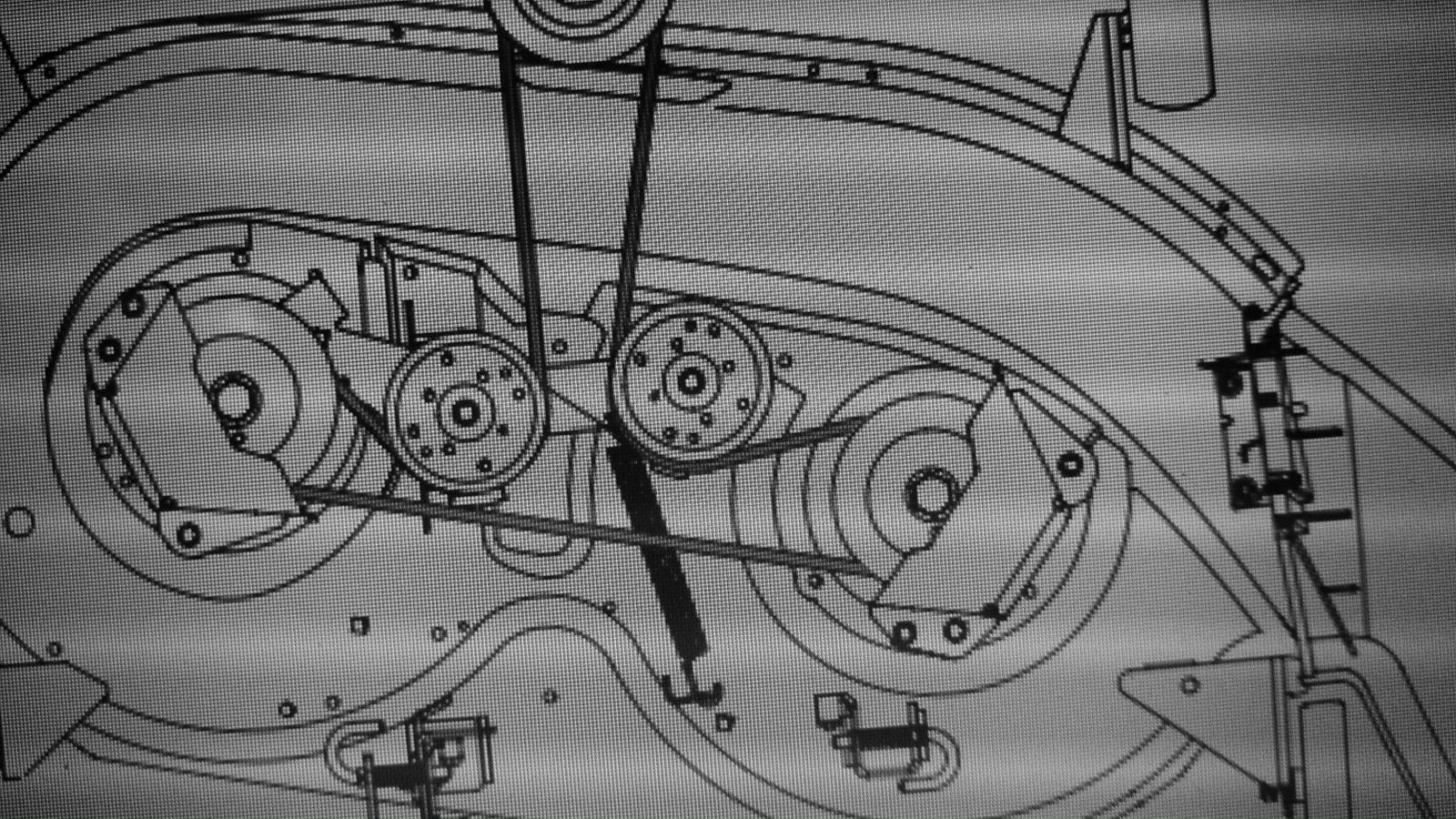 Cub Cadet Mower-Deck belt problems! - Tech Support Forum on kawasaki wiring diagram, club car wiring diagram, columbia wiring diagram, roper wiring diagram, atlas wiring diagram, clark wiring diagram, scotts wiring diagram, briggs and stratton ignition system diagram, ford new holland wiring diagram, simplicity wiring diagram, kubota wiring diagram, electrial lt1045 block diagram, kubota t1460 transmission diagram, lt 1042 diagram, mtd wiring diagram, cockshutt wiring diagram, farmall cub distributor diagram, apache wiring diagram, farmall wiring harness diagram, sears wiring diagram,
