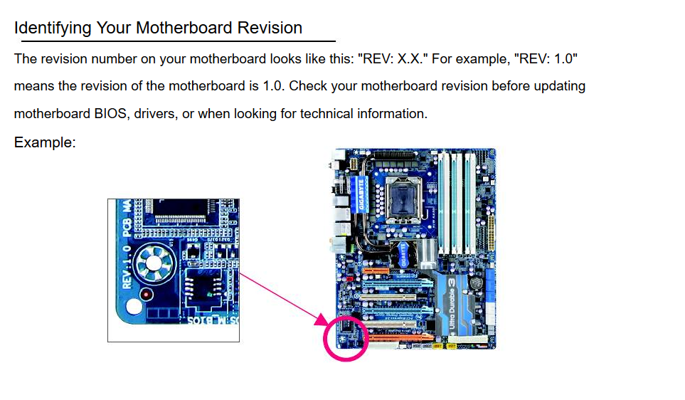 Click image for larger version  Name:Screenshot-2017-10-22 Identifying Your Motherboard Revision - Gigabyte GA-EX58-UD3R User Manual .png Views:41 Size:348.2 KB ID:314761