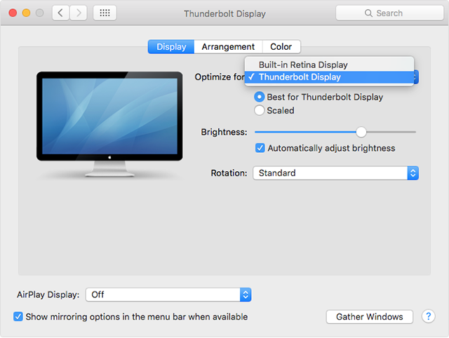 Click image for larger version  Name:thunderbolt-display-el-cap-system-preferences-display-optimize.png Views:45 Size:121.1 KB ID:310873