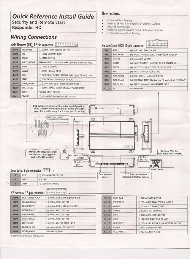 Viper 5902 car alarm | Tech Support